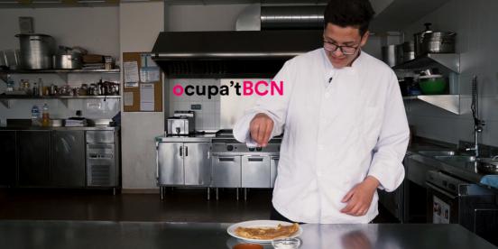 foto video receptes ocupat bcn